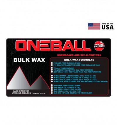 Cera Snow F1 All-Temp Bulk Wax
