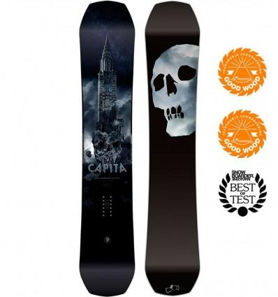 Capita Black Snowboard of Death 2019
