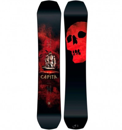 Capita Black Snowboard of Death 2018
